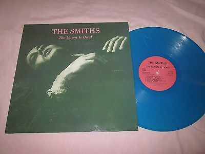 The Smiths The Queen Is Dead Blue Vinyl RP LP New Unplayed