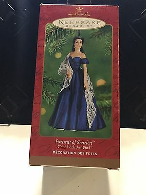 Hallmark Christmas Ornament Portrait Of Scarlett O'Hara 2001