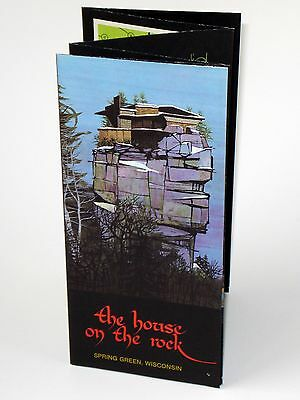 Vintage 70s The House On The Rock Wisconsin Travel Brochure 1975 Architecture