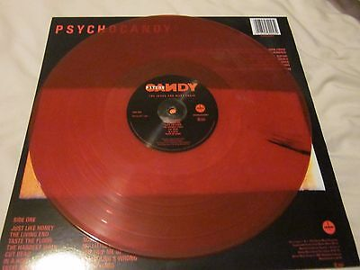Jesus And Mary Chain Psychocandy Transparent Red Marbled Vinyl RP LP New