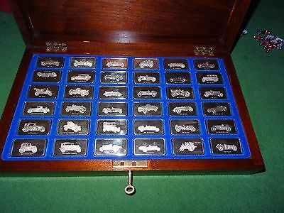 JOHN PINCHES-Lord Montague Collection of Great Car Ingots-36 x 66.6 gm each=1317