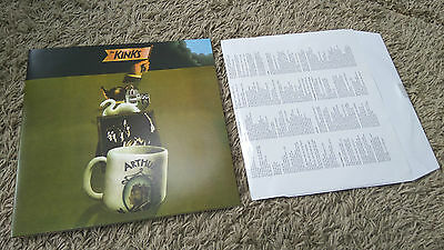 The Kinks Arthur Or The Decline and Fall of the British Empire MONO 2016 Vinyl
