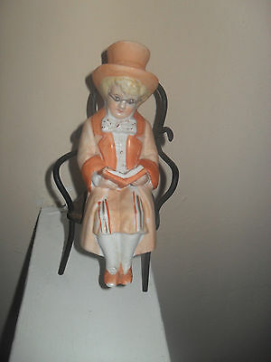 victorian figurine in bisque by conta and boehme