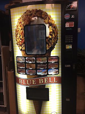FastCorp Food and/or Ice Cream Vending Machine Model 820