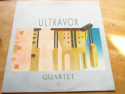 Ultravox ‎– Quartet   LP   [ORIGINAL AND BEST SOUND  FAB DYNAMIC RANGE]