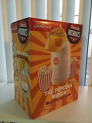 Sunbeam Snack Heroes Electric Popcorn Maker - New / Gift for the Kids & Big Kids