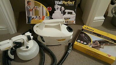 Wagner WallPerfect W-665 I-Spray HVLP Paint Spraying System + Extender kit