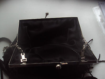 Two Delightful Black Evening Bags -Formal Evening/party/cruises