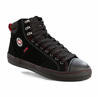 Lee Cooper Safety Baseball Boots Steel Toe Cap Mens Trainers Sizes Shoes Boot