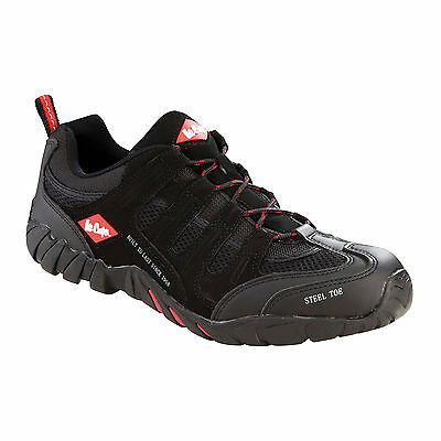 New Lee Cooper Safety Trainers Steel Toe Cap Boot Mens Work Shoes Trainer Boots