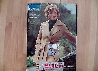 Vintage 1973 Montgomery Ward Fall & Winter Catalog Great Condition 1407 Pages