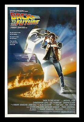 BACK TO THE FUTURE * CineMasterpieces ORIGINAL MOVIE POSTER ROLLED NM-M 1985