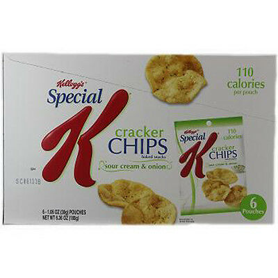 Special K Cracker Chips Sour Cream & Onion - 6 Pack 1.06 Oz