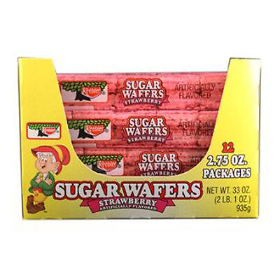 Keebler Sugar Wafers Strawberry 2.75 Oz Each ( 12 In A Pack )