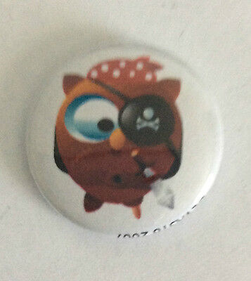 DEVAST8 1-inch BADGE Button Pin Pirate Toon NEW OFFICIAL MERCHANDISE