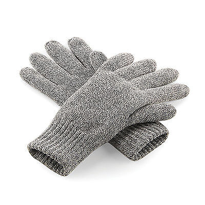 Beechfield Classic Thinsulate Gloves Everyday Warm Winter Thermal Unisex Snow