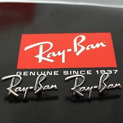 Authentic Rayban RB 2140 Original Wayfarer Replacement Icons / Trim Logo Genuine