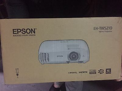 Epson Eh-Tw5210 Home Theatre Cinema Projector (Full Hd 1080 3D) ������