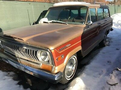 1970 Jeep Wagoneer  1970 Jeep Wagoneer, Buick 350 V8 Original miles NO RESERVE