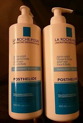 La Roche-Posay Posthelios After Sun Face and Body 2 x 400ml Soothing Gel