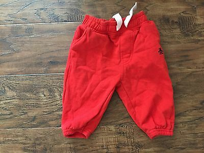 Boys red Penguin joggers size 9-12 months (no reserve)