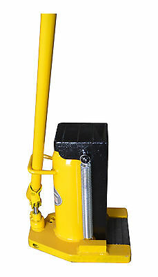 Hydraulic Machine Toe Jack Lift 20T Jack Lifting Capacity On Top 20T
