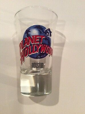 Planet Hollywood Tall Shot Glass - Houston