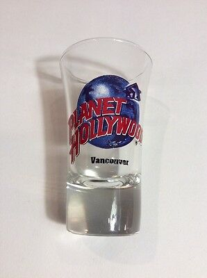 Planet Hollywood Tall Shot Glass - Vancouver