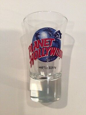 Planet Hollywood Tall Shot Glass - Myrtle Beach