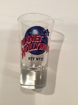 Planet Hollywood Tall Shot Glass - Key West