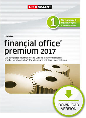 Lexware Financial Office Premium 2017 (365-Tage) Win ESD Download-Lizenz / KEY