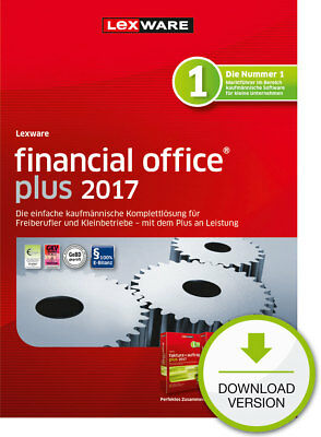 Lexware Financial Office PLUS 2017 (365-Tage Version) Win Download-Lizenz / KEY
