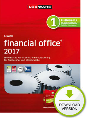 Lexware Financial Office 2017 (365-Tage Version) Win ESD Download-Lizenz / KEY