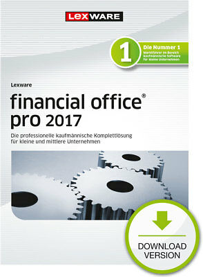 Lexware Financial Office PRO 2017 (365-Tage Version) ESD Download-Lizenz / KEY