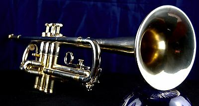 Olds Opera 1962 Fullerton, California Large Bore Bb Trumpet with Benge Case