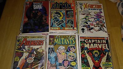 Lot of 20 rare and vintage comics. Marvel, D.C..