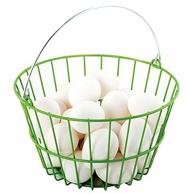 Ware Manufacturing Chicken Collecting Egg Basket Heavy Duty Wire Backyard Flock