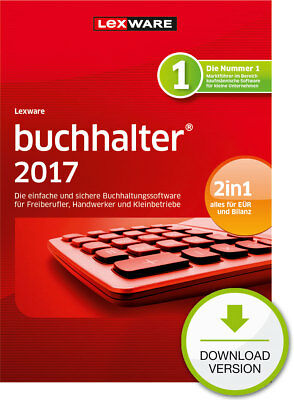 Lexware Buchhalter 2017 (365-Tage Version) Win / ESD Download-Lizenz / KEY