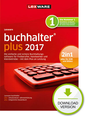 Lexware Buchhalter PLUS 2017 (365-Tage Version) Win ESD Download-Lizenz / KEY