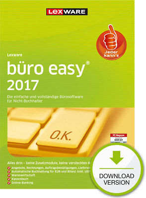 Lexware Buero Easy 2017 (365-Tage Version) Win / ESD Download-Lizenz / KEY