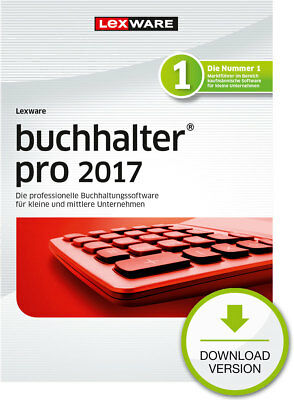 Lexware Buchhalter PRO 2017 (365-Tage Version) Win ESD Download-Lizenz / KEY
