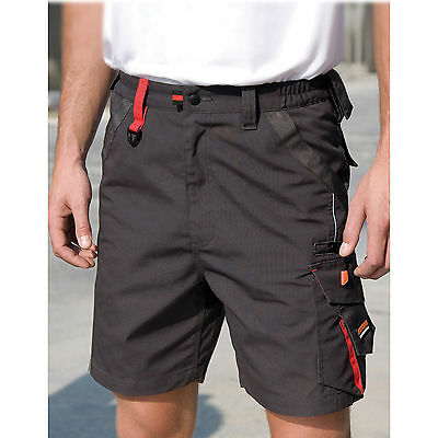 Result Work Guard Technical Shorts Mens Smart Windproof Shorts With Pockets New