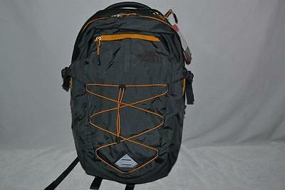 Authentic The North Face Borealis Backpack Bookbag Daypack Gray Yellow New