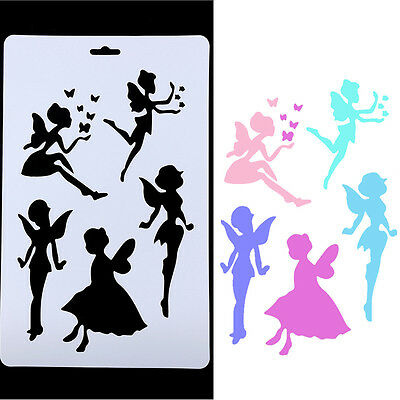 Angel Stencils Templates Painting Scrapbooking Stamps Album DIY Craft Tools Hot