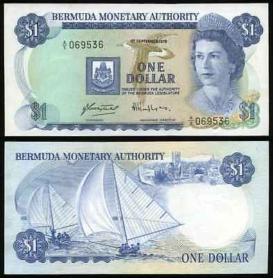 BERMUDA 1979 One Dollar P28b ***