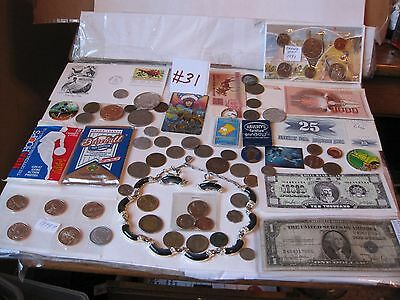A Super Lot Of Tokens-Medals-Coins & Other Great Items #31