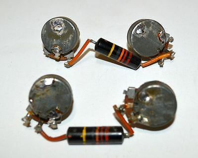 1959 Gibson Wiring Harness Pots CENTRALAB Les Paul ES Burst Bumblebee PAF 500K