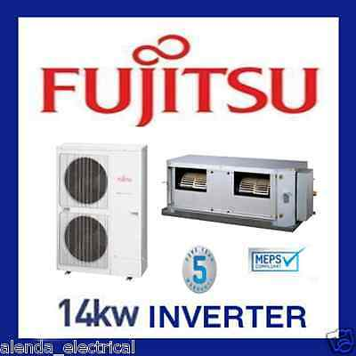 Brand New FUJITSU 14kw INVERTER Reverse Cycle DUCTED Air Conditioner