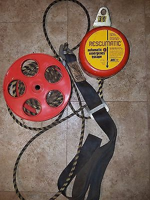 Rtc Rescumatic Automatic Rescue Harness 300Lbs Decent Device