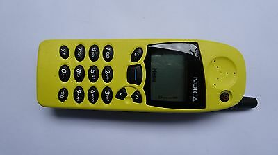 Nokia 5110 Yellow UNLOCKED, with case & charger
